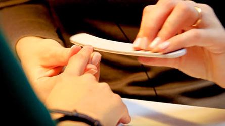маникюр перед покрытием шеллак